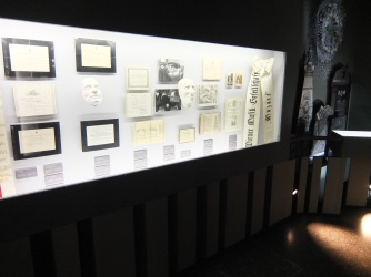 Museum of Funeral History case